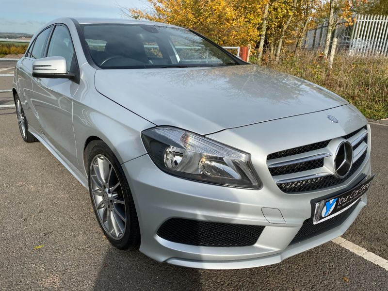 Used MERCEDES A-CLASS in Cwmbran, Wales for sale