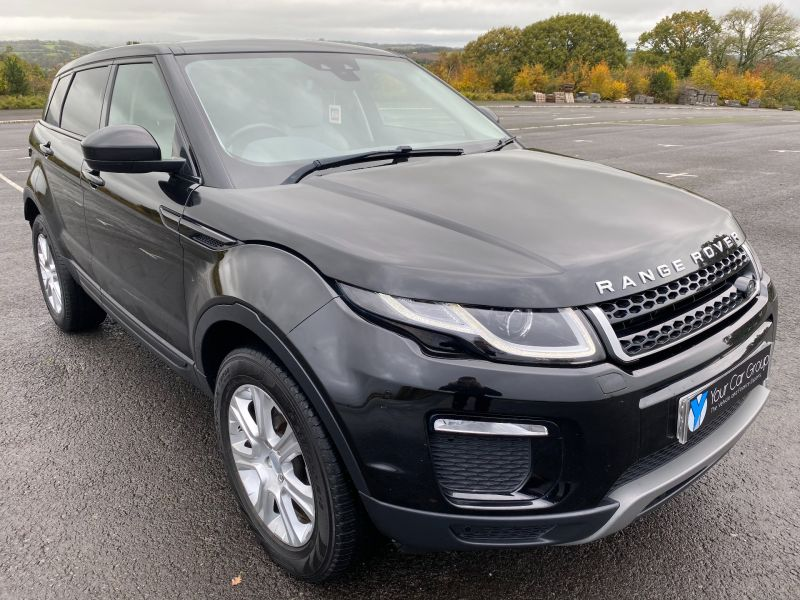 Used LAND ROVER RANGE ROVER EVOQUE in Cwmbran, Wales for sale
